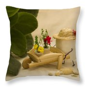 Cultivating Confection Throw Pillow