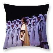 Spectacular Aida Throw Pillow