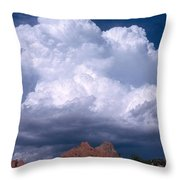 Cumulonimbus Cloud Throw Pillow by Science Source