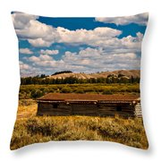 Cunningham Cabin II Throw Pillow