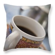 Cup Of Coffee Throw Pillow by David DuChemin