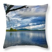 Cupsuptic Lake Throw Pillow