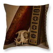 Curiosity Killed The Cat Throw Pillow