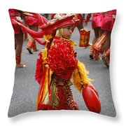 Curious Carnival Child Throw Pillow