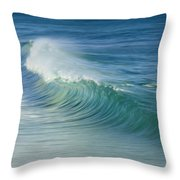 Curling Wave Throw Pillow
