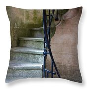 Curly Stairway Throw Pillow