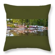 Curriers Throw Pillow