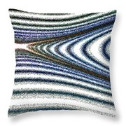 Curve Art Throw Pillow