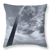 Curved Arch Throw Pillow