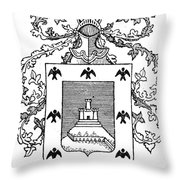 Cusco: Coat Of Arms Throw Pillow