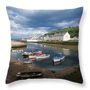 Cushendun, Co. Antrim, Ireland Throw Pillow