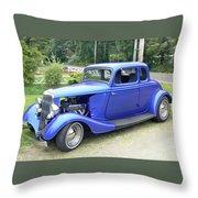 Custom 34 Ford Throw Pillow