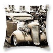 Custom 36 Dodge Throw Pillow