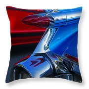 Custom Fins Throw Pillow