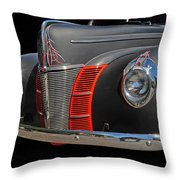 Custom Front End Throw Pillow