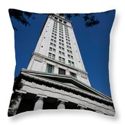 Custom House Boston Throw Pillow