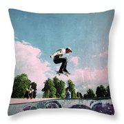 Cut Above The Rest Throw Pillow