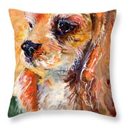 Cuteness Throw Pillow