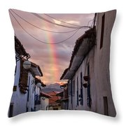 Cuzco Throw Pillow