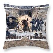 Czars Assassination, 1881 Throw Pillow