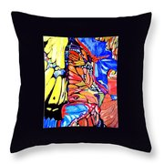 Butterflies Wings  Throw Pillow