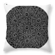 Da Vinci: Sixth Knot Throw Pillow