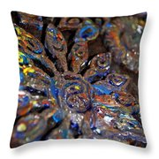 Dabbling With Paint Throw Pillow