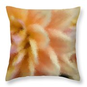 Dahlia Delight 2 Throw Pillow