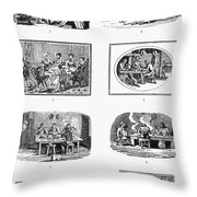 Daily Life: Dining Throw Pillow