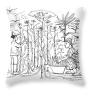 Daily Life In South And Center Cameroon 01 Throw Pillow