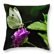 Dainty Butterfly 2 Throw Pillow