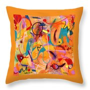Daisy May Throw Pillow