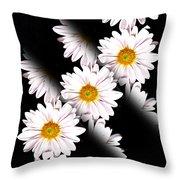 Daisy Split Throw Pillow