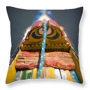Dal Lake, Srinagar, Kashmir, India Throw Pillow