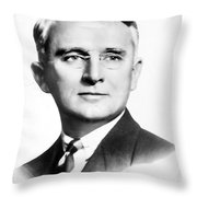 Dale Carnegie (1888-1955) Throw Pillow