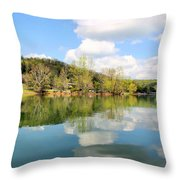 Dale Hollow Tennessee Throw Pillow