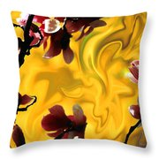Dali Spring 3 Throw Pillow