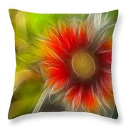 Dalia Pseudo Fractal Throw Pillow