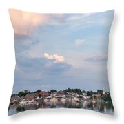 Damariscotta Sky Throw Pillow