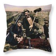 Damsel In Distress, 1913 Throw Pillow