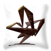 Dance For The Dryad Throw Pillow