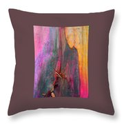 Dance For The Earth Throw Pillow