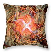Dance Of Fires  Throw Pillow