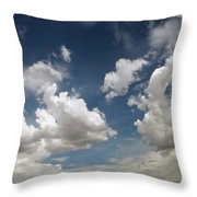 Dance Of The Clouds - Series Throw Pillow