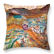 Dance Of The Elements Throw Pillow