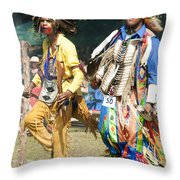 Dancers Male Throw Pillow
