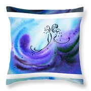 Dancing Water V Throw Pillow
