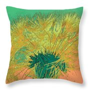 Dandilion Colorized IIi Throw Pillow