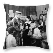 Dangerous Talent, 1920 Throw Pillow