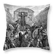 Daniel Defoe (1660-1731) Throw Pillow
